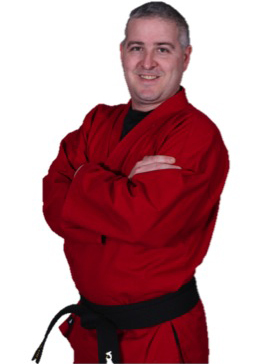 Adult karate student Karate America Greenville
